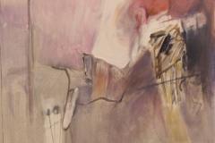 Behind me, 60x60, acrylic, 2011